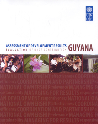 Cover image for the book Assessment of Development Results: Guyana Evaluation of Undp Contribution