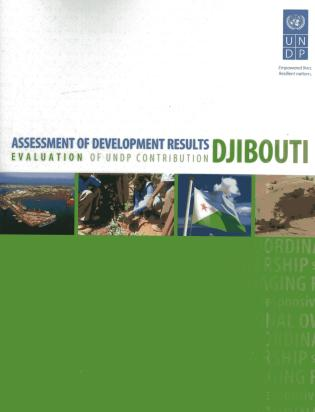 Cover image for the book Assessment of Development Results: Djibouti