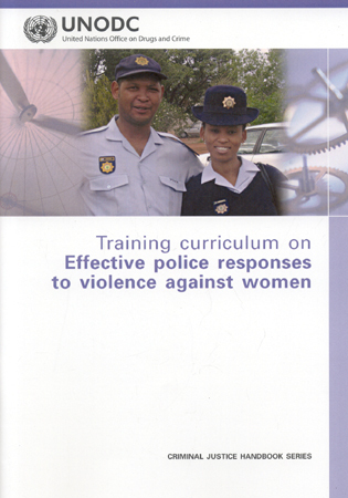 Cover image for the book Training Curriculum on Effective Police Responses to Violence Against Women