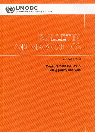 Cover image for the book Bulletin on Narcotics: Measurement Issues in Drug Policy Analysis