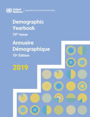 Cover image for the book United Nations Demographic Yearbook 2019