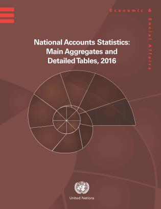 Cover image for the book National Accounts Statistics: Main Aggregates and Detailed Tables 2016