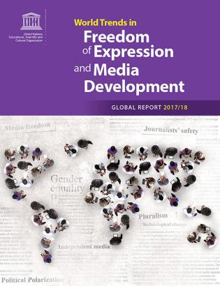 Cover image for the book World Trends in Freedom of Expression and Media development