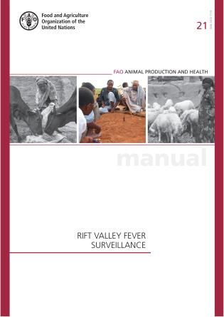 Cover image for the book Rif Valley Fever Surveillance: FAO Animal Production and Health Manual No. 21