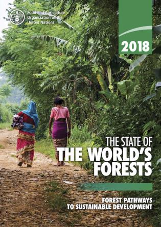 Cover image for the book The State of the World's Forests 2018 (SOFO): Forest Pathways to Sustainable Development