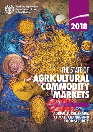 Cover image for the book The State of Agricultural Commodity Markets 2018: Agricultural Trade, Climate Change and Food Security