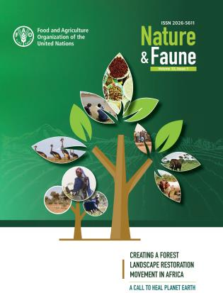 Cover image for the book Nature & Faune Journal, Issue 1: Creating a Forest Landscape Restoration Movement in Africa, Volume 32