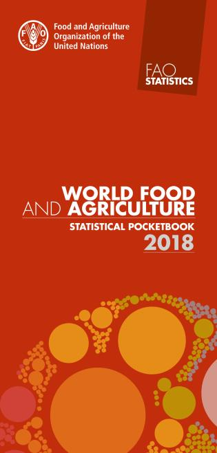 Cover image for the book World Food and Agriculture - Statistical Pocketbook 2018
