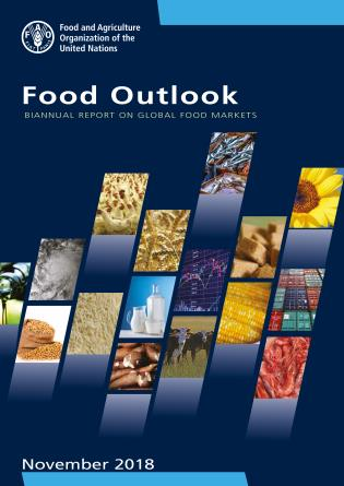 Cover image for the book Food Outlook: Biannual Report On Global Food Markets (November 2018)