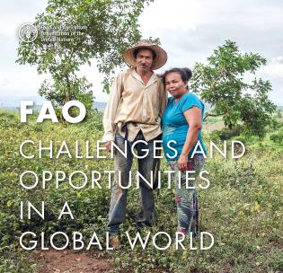 Cover image for the book FAO: Challenges and Opportunities in a global world