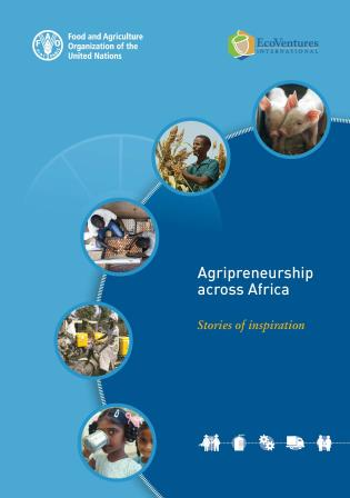 Cover image for the book Agripreneurship across Africa: Stories of Inspiration