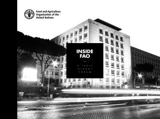 Cover image for the book Inside FAO. A truly global forum