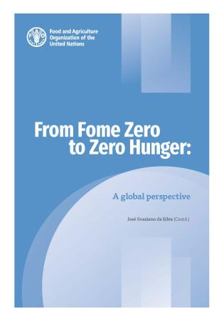 Cover image for the book From Fome Zero to Zero Hunger: A Global Perspective