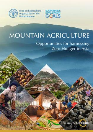 Cover image for the book Mountain Agriculture: Opportunities for Harnessing Zero Hunger in Asia
