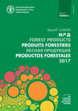 Cover image for the book FAO Yearbook of Forest Products: 2017