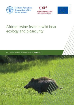 Cover image for the book African Swine Fever in Wild Boar Ecology and Biosecurity
