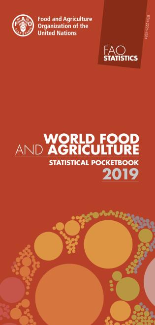 Cover image for the book World Food and Agriculture - Statistical Pocketbook 2019