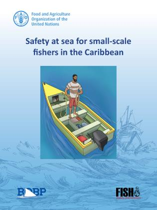 Cover image for the book Safety at Sea for Small-scale Fishers in the Caribbean