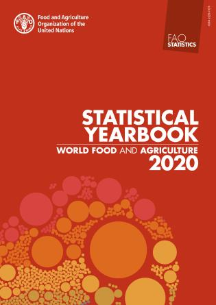 Cover image for the book FAO Statistical Yearbook 2020