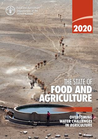 Cover image for the book The State of Food and Agriculture 2020: Overcoming Water Challenges in Agriculture