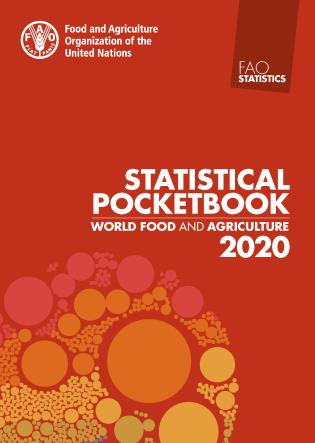 Cover image for the book World Food and Agriculture – Statistical Pocketbook 2020