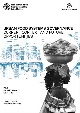 Cover image for the book Urban Food Systems Governance: Current Context and Future Opportunities
