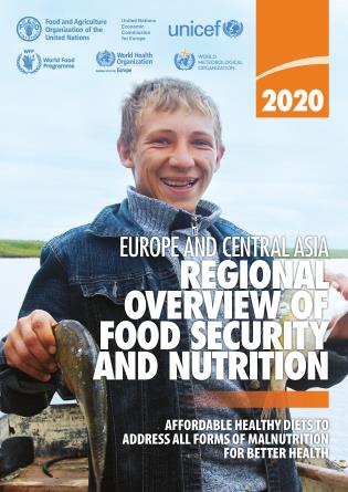 Cover image for the book Europe and Central Asia – Regional Overview of Food Security and Nutrition 2020: Affordable Healthy Diets to Address all Forms of Malnutrition for Better Health
