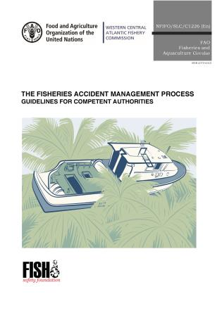 Cover image for the book The Fisheries Accident Management Process: Guidelines for Competent Authorities