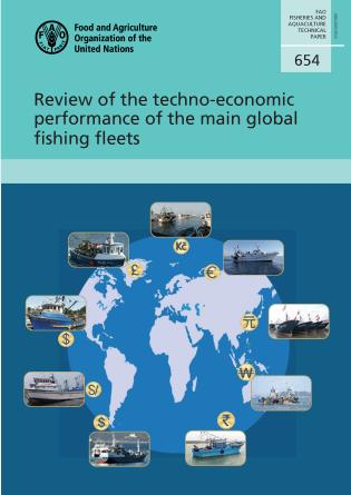 Cover image for the book Review of the Techno-economic Performance of the Main Global Fishing Fleets