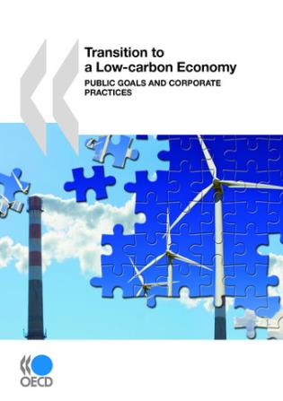 Cover image for the book Transition To A Low-Carbon Economy: Public Goals And Corporate Practices