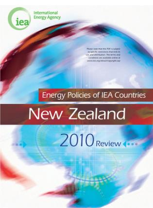 Cover image for the book Energy Policies Of IEA Countries: New Zealand 2010