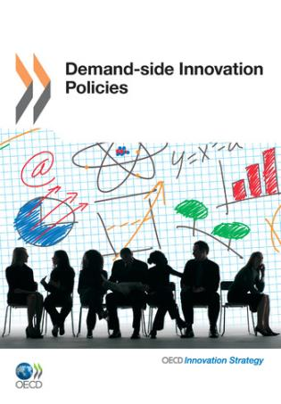 Cover image for the book Demand-Side Innovation Policies