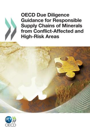 Cover image for the book Oecd Due Diligence: Guidance For Responsible Supply Chains Of Minerals From Conflict-Affected And High-Risk Areas
