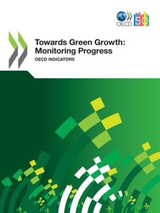 Cover image for the book Towards Green Growth: Monitoring Progress - OECD Indicators