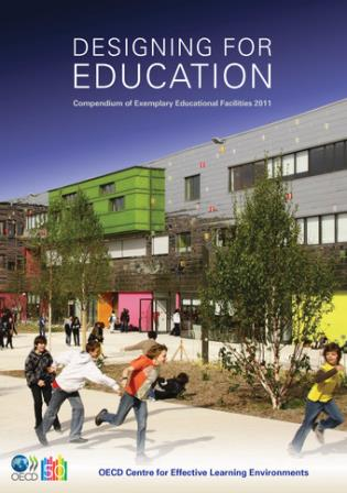 Cover image for the book Designing for Education Compendium of Exemplary Educational Facilities 2011