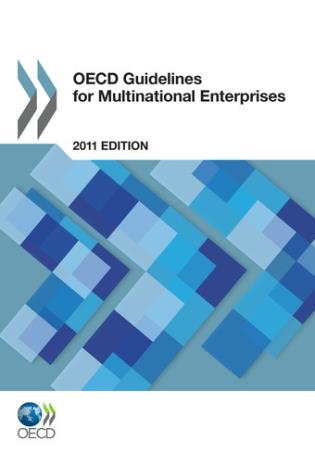 Cover image for the book OECD Guidelines For Multinational Enterprises