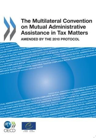 Cover image for the book Multilateral Convention On Mutual Administrative Assistance In Tax Matters: Amended By The 2010 Protocol