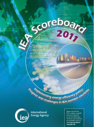 Cover image for the book Iea Scoreboard 2011 - Implementing Energy Efficiency Policy: Progress And Challenges In Iea Member Countries