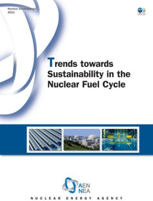 Cover image for the book Trends towards Sustainability in the Nuclear Fuel Cycle