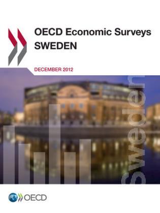 Cover image for the book OECD Economic Surveys: Sweden: 2012