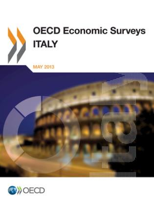 Cover image for the book OECD Economic Surveys: Italy: 2013