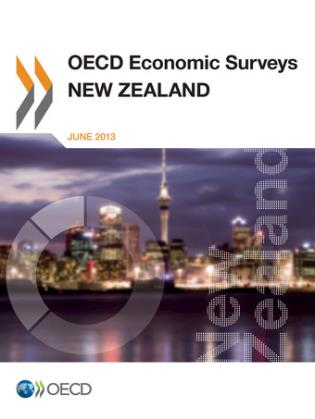Cover image for the book OECD Economic Surveys: New Zealand: 2013