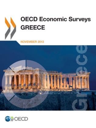Cover image for the book OECD Economic Surveys: Greece: 2013