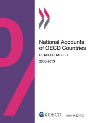 Cover image for the book National Accounts Of OECD Countries, Detailed Tables: 2014/2, Volume 2