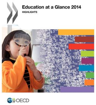 Cover image for the book Education At A Glance: Highlights: 2014