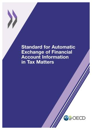 Cover image for the book Standard For Automatic Exchange Of Financial Account Information In Tax Matters