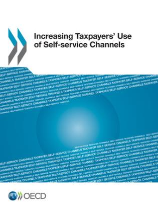 Cover image for the book Increasing Taxpayers' Use Of Self-Service Channels