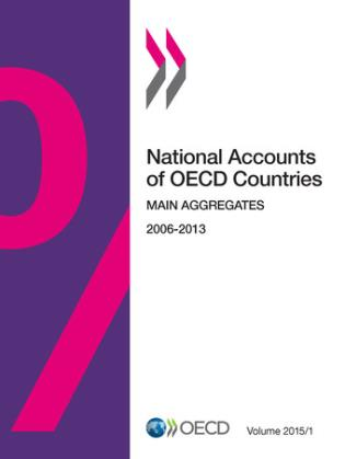 Cover image for the book National Accounts Of OECD Countries, Main Aggregates: 2015/1, Volume 1