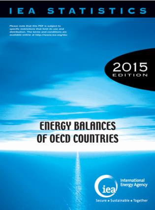 Cover image for the book Energy Balances Of OECD Countries: 2015