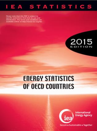 Cover image for the book Energy Statistics Of OECD Countries: 2015